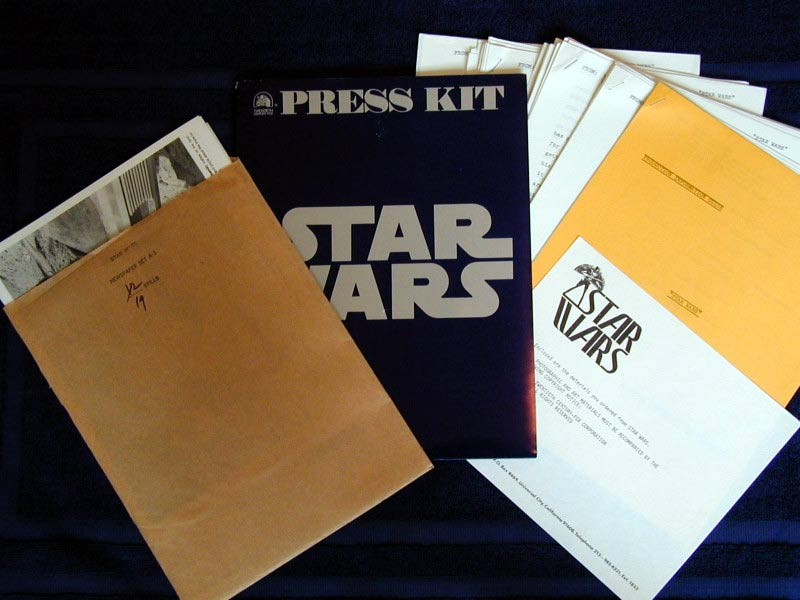 press kit star wars